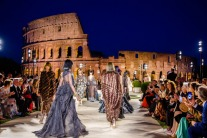 Fendi's Latest Fashion Show was a Roman Celebration in the Shadow of the Colosseum