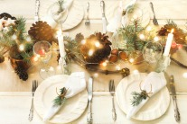 Christmas table setting inspiration by New Evolution
