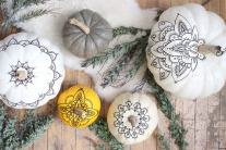 Chic Pumpkin Halloween Decorations