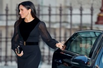 Meghan Markle Wears Givenchy For Her First Solo Appearance
