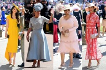 Guests at the Royal Wedding