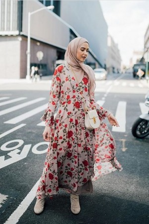 Wearing an abaya or a hijab is a women's choice