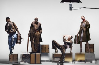 Gigi Hadid First Burberry Campaign