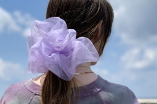 Giant Scrunchies are About to Become Summer's Hottest Hair Trend