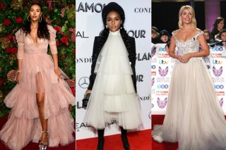 Tulle Is The Latest Red Carpet Trend