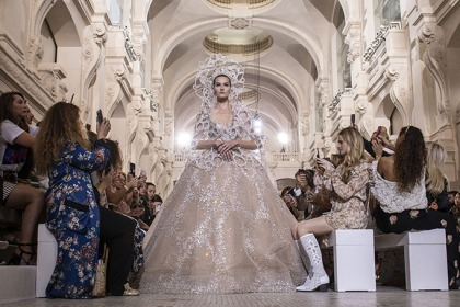 Paris Haute Couture Week Best Bridal Gowns By Arab