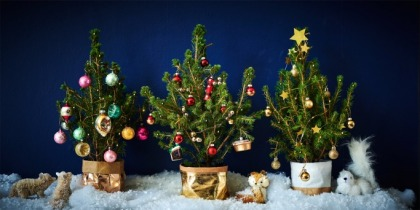 Christmas Trees For Small Apartments.6 Alternative Christmas Trees For Small Spaces Ewmoda