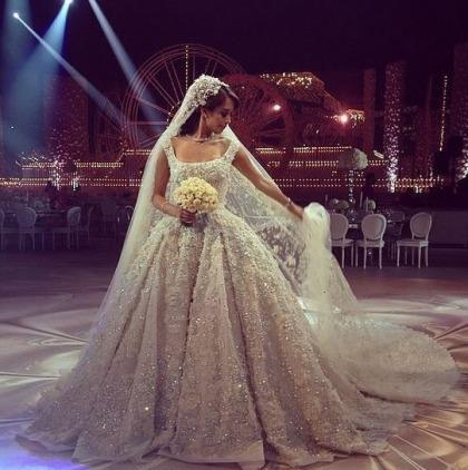 10 Famous Brides Who Wore Elie Saab Wedding Gowns Ewmoda