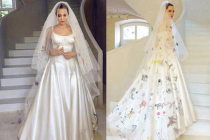 10 Most Beautiful Celebrity Brides Of All Time Ewmoda