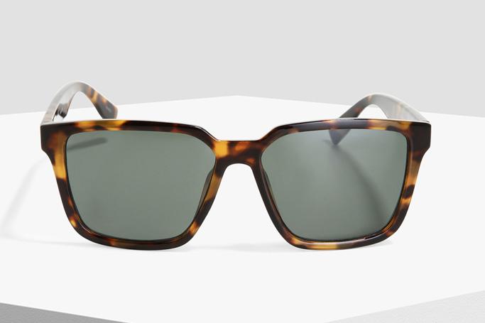 Jack & Jones Brown Patterned Sunglasses
