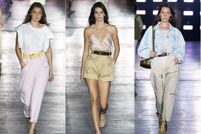 Milan Fashion Week: Kendall Jenner, Gigi and Bella Hadid