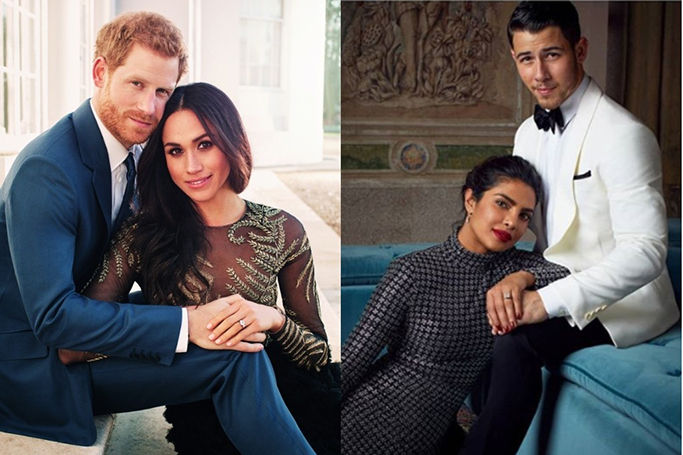 Priyanka Chopra And Nick Jonas recreate royal engagement pic