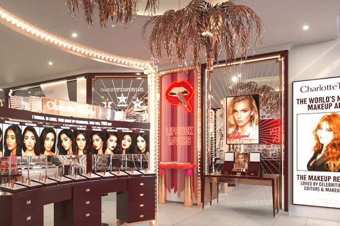 Charlotte Tilbury's Dubai Store