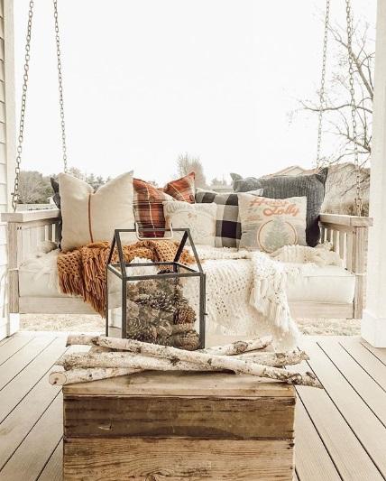 Create a cosy corner