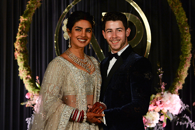 Priyanka Chopra & Nick Jonas Wedding Cake