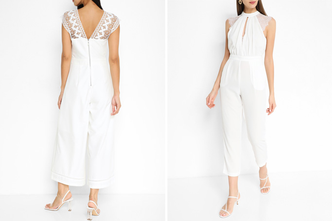 How to wear a white jumpsuit