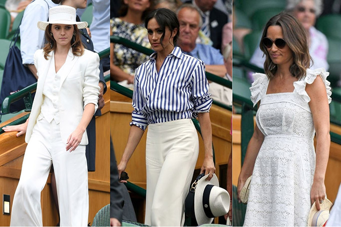 Best Dressed Celebrities At Wimbledon 2018
