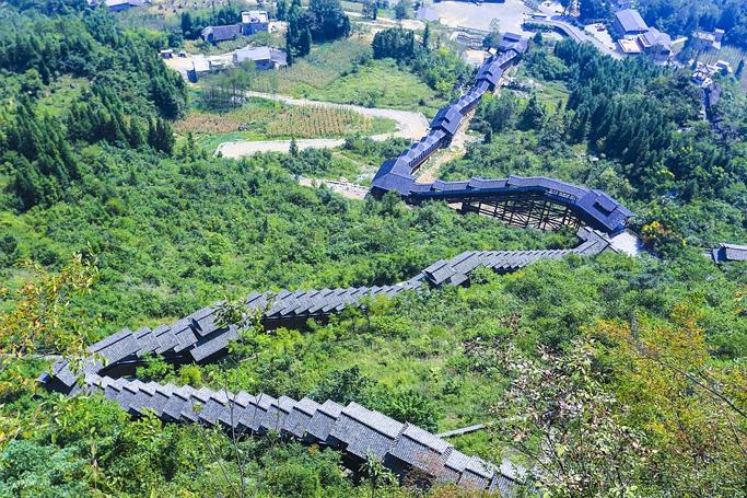 world's longest escalator china